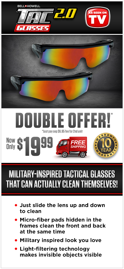 Order Tac Glasses 2.0 Now!